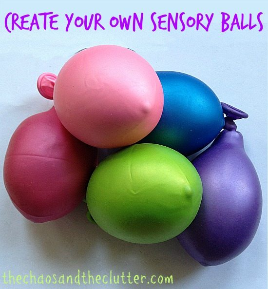 Create Your Own Sensory Balls (for pennies each)