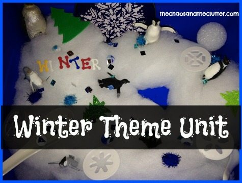 Winter Theme Unit Study   {Weekend Links} from HowToHomeschoolMyChild.com