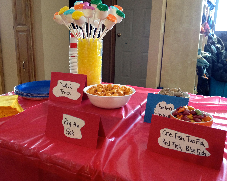 Dr Seuss Theme Party