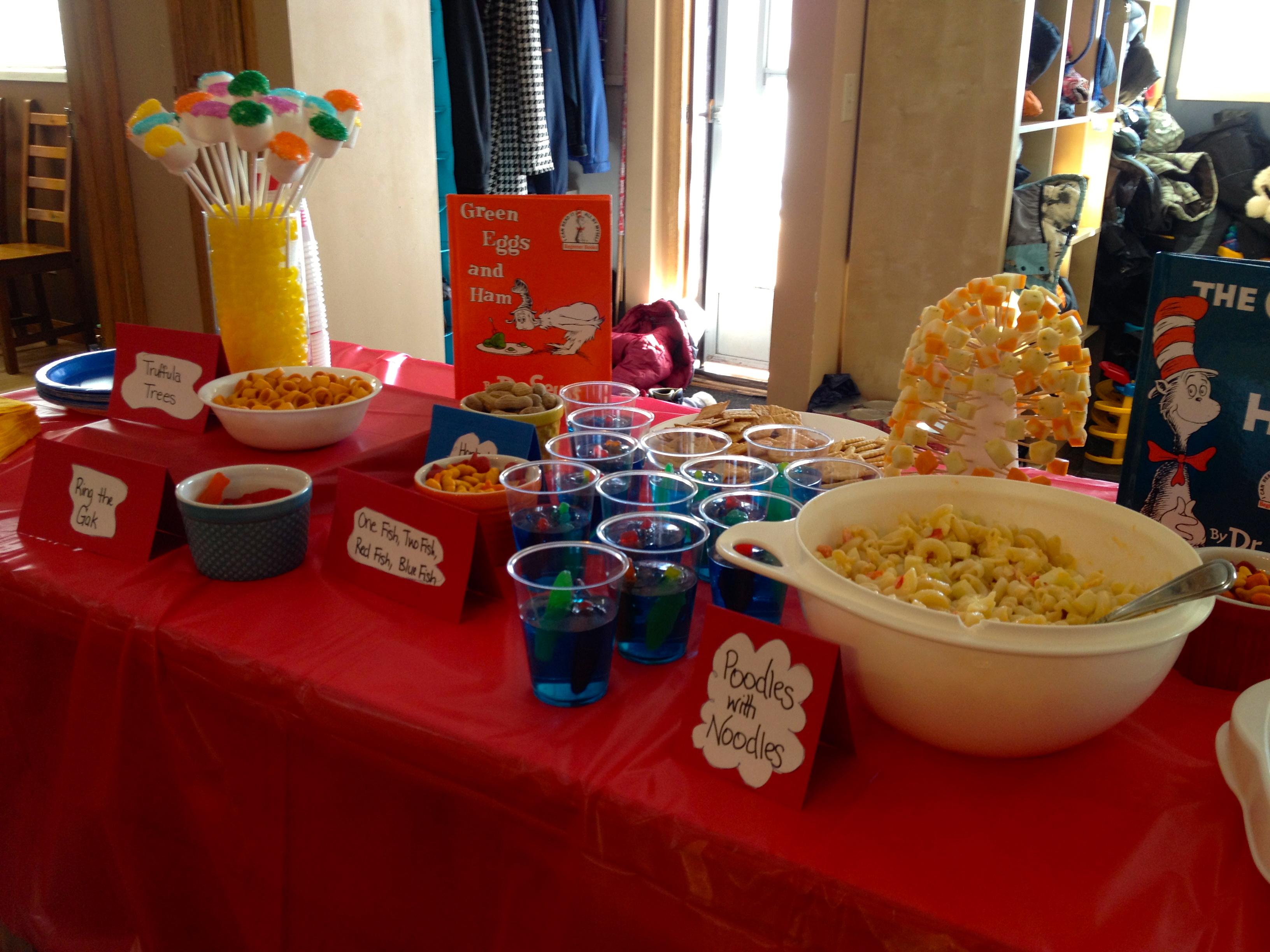 Dr Seuss Party Decorations Dr Seuss Theme Party
