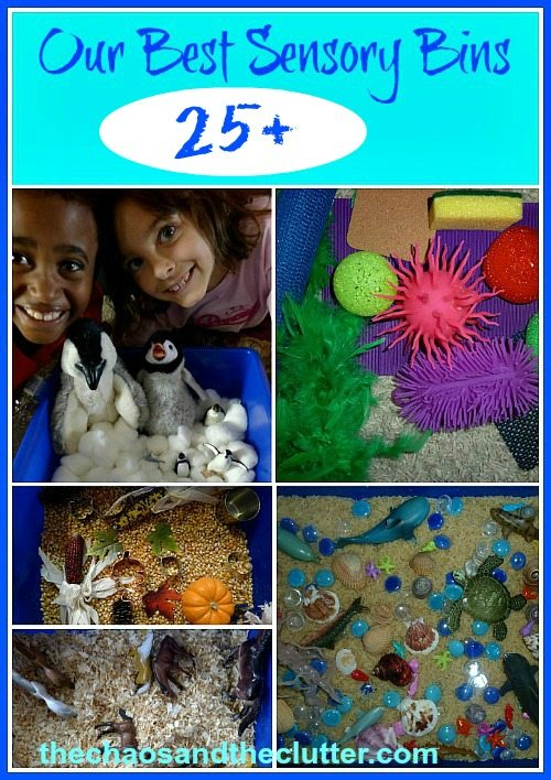 Our Best Sensory Bins