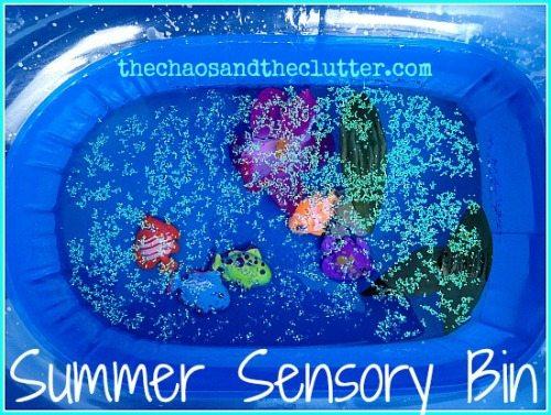 Summer Sensory Bin