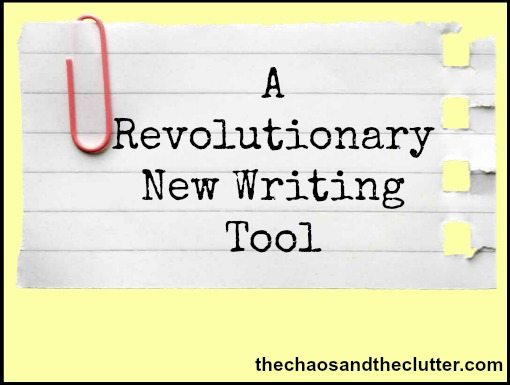 a revolutionary new writing tool
