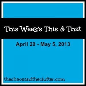 this week's this and that