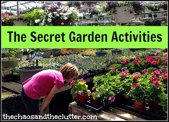 Activities to Accompany The Secret Garden