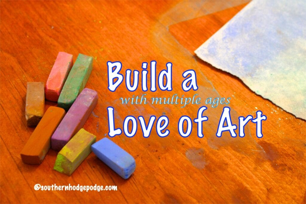 Build a Love of Art with Multiple Ages
