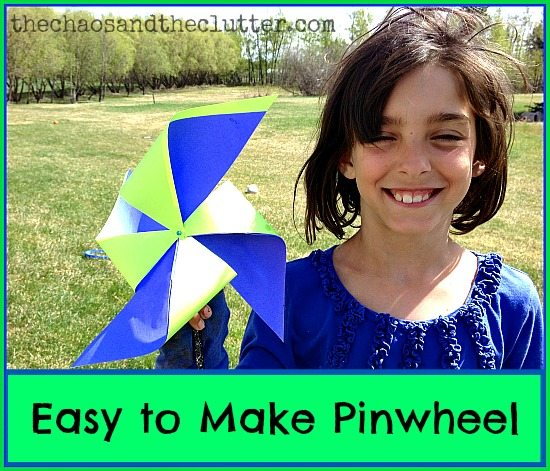 Easy to Make Pinwheel