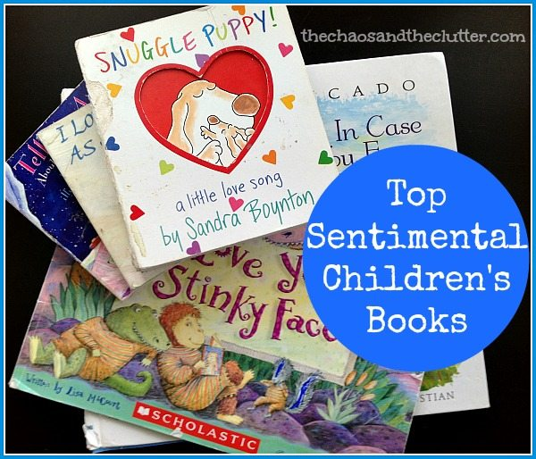 Our Favourite Sentimental Children's Books