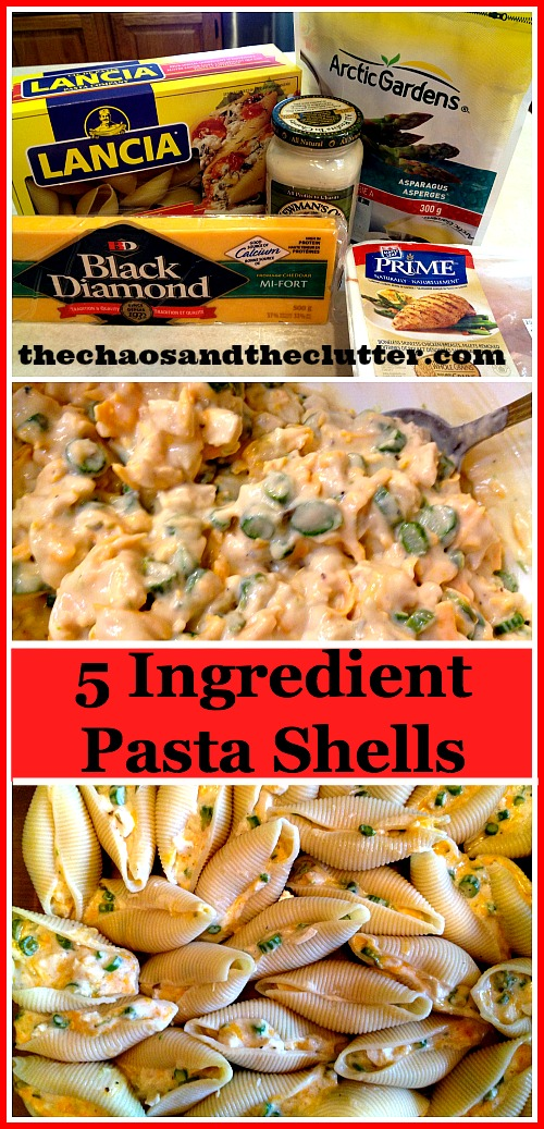 5 Ingredient Pasta Shells
