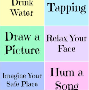 Relaxation Prompts Printables