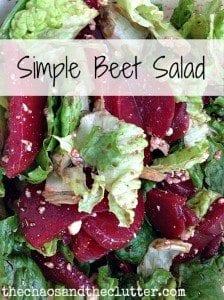 Simple Beet Salad