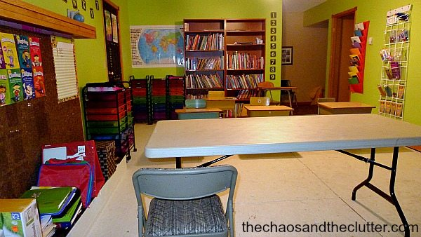 classroom view4 - The Chaos and The Clutter