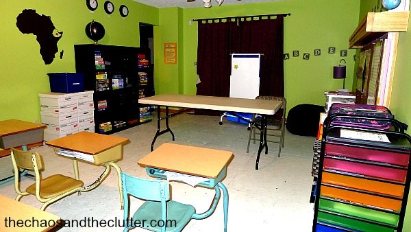 classroomview3 - The Chaos and The Clutter