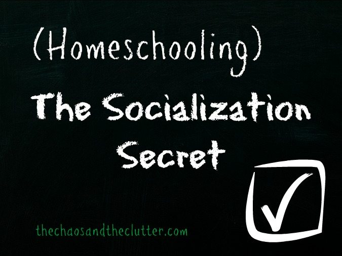 The Socialization Secret