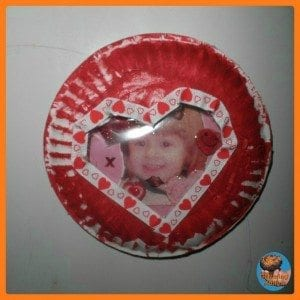paper plate valentines day globe