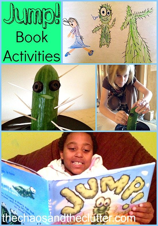 Activities for the book Jump!