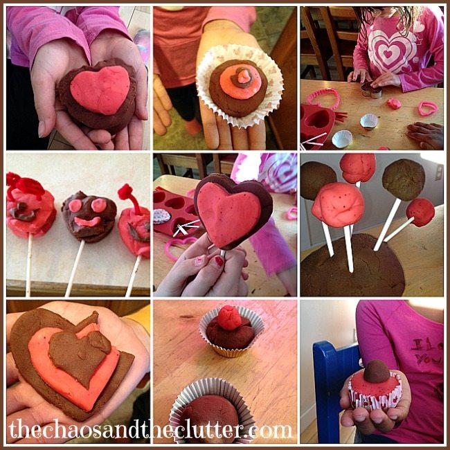 Valentine's Sensory Play