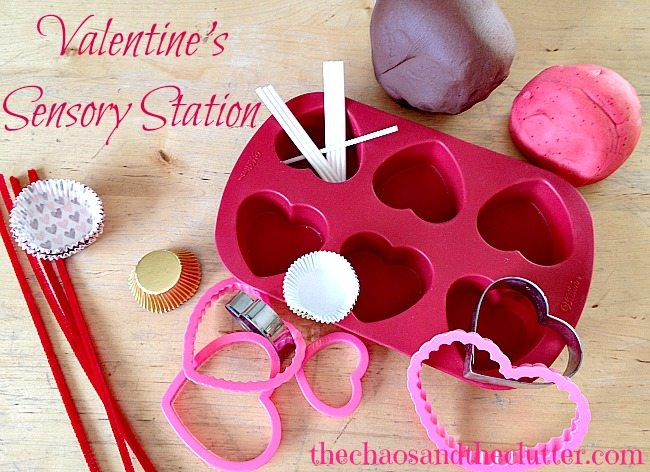 Valentine's Sensory Station