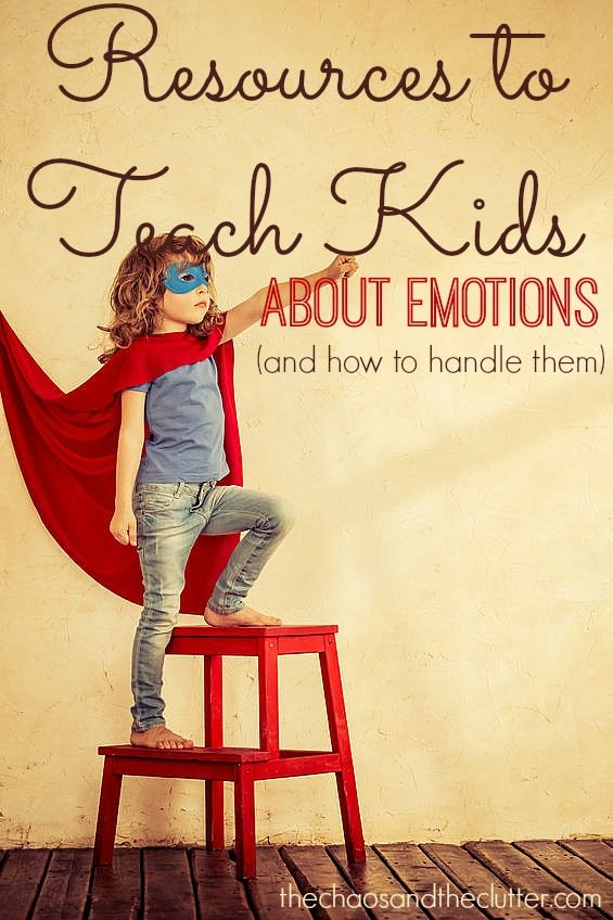 Resources to Teach Kids About Emotions and How to Handle Them