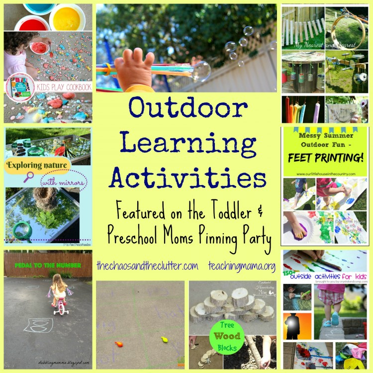 Outdoor Learning Activities & Pinning Party - The Chaos and the ...