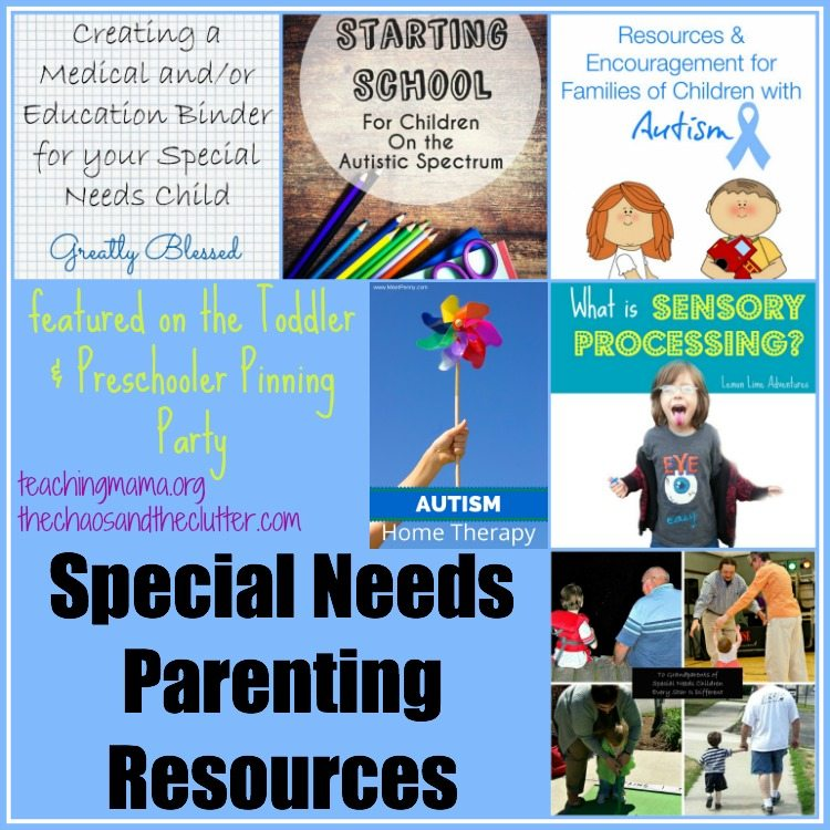 special needs parenting resources amp pinning party