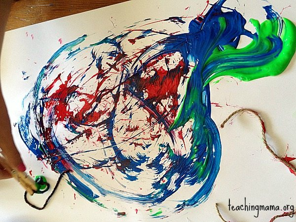 String Painting Artwork