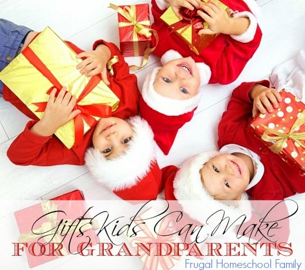 Gifts Kids Can Make for Grandparents