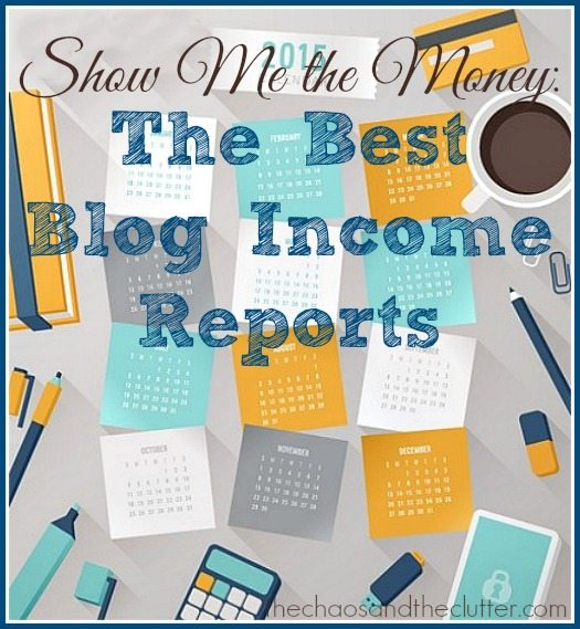 Show Me the Money: The Best Blog Income Reports