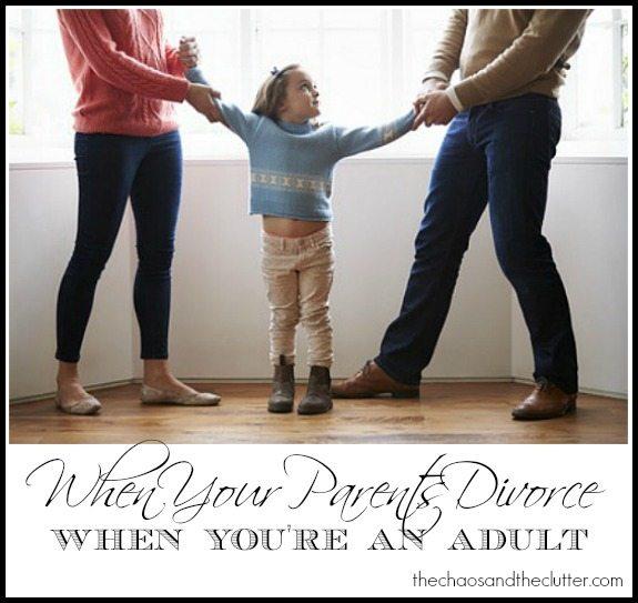 divorce pour adult re