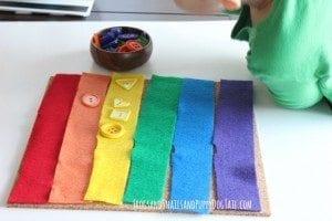 Rainbow Color Shape Match Up