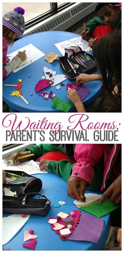 Waiting Rooms: a Parent's Survival Guide