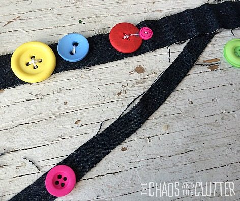 easy button hair tie