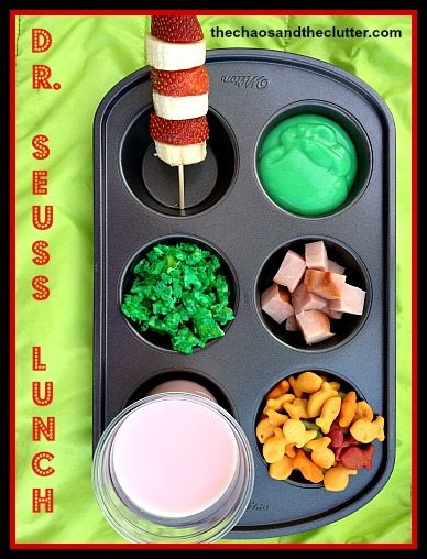 Dr. Seuss Lunch