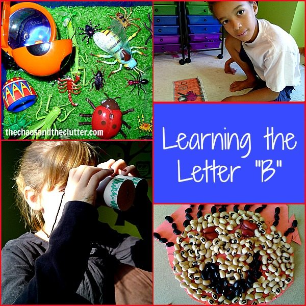 Activities for Learning the Letter B