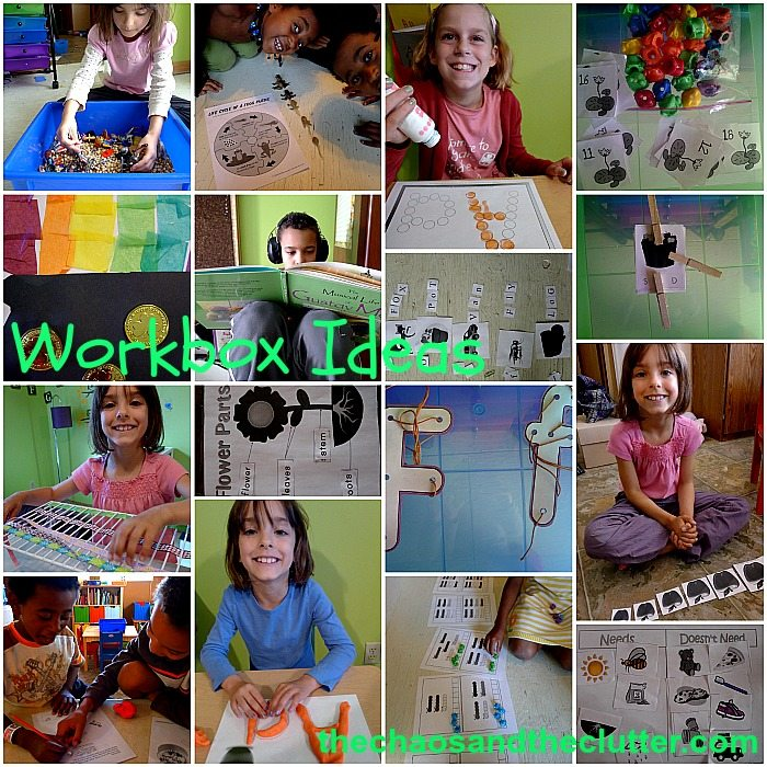 Workbox Ideas at The Chaos and The Clutter