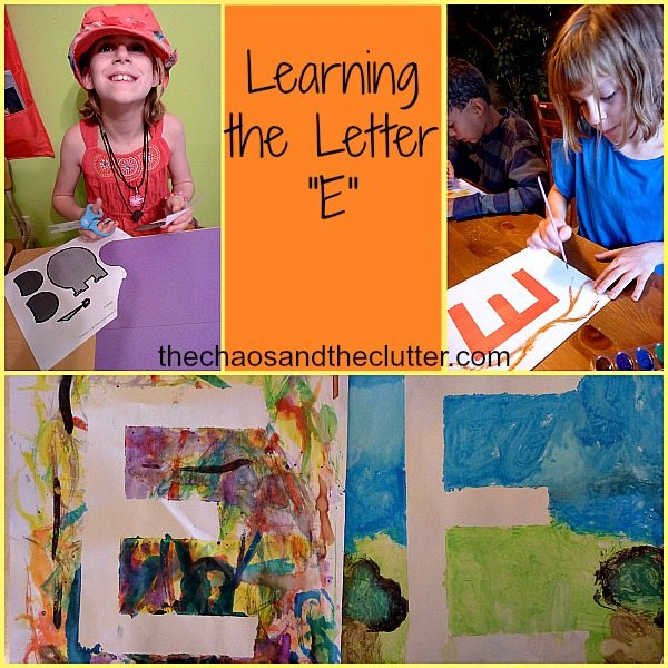 Learning the Letter E