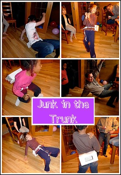 Junk in the Trunk Minute to Win It Game