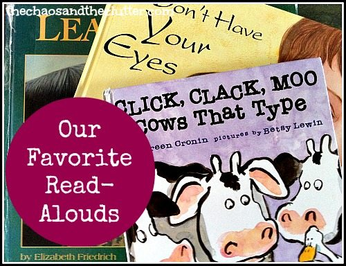 our favourite read-alouds for kids