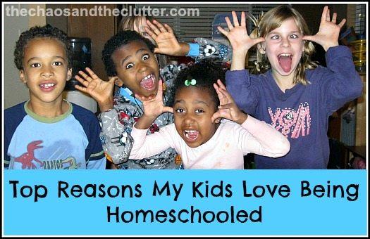 reasons my kids love being homeschooled