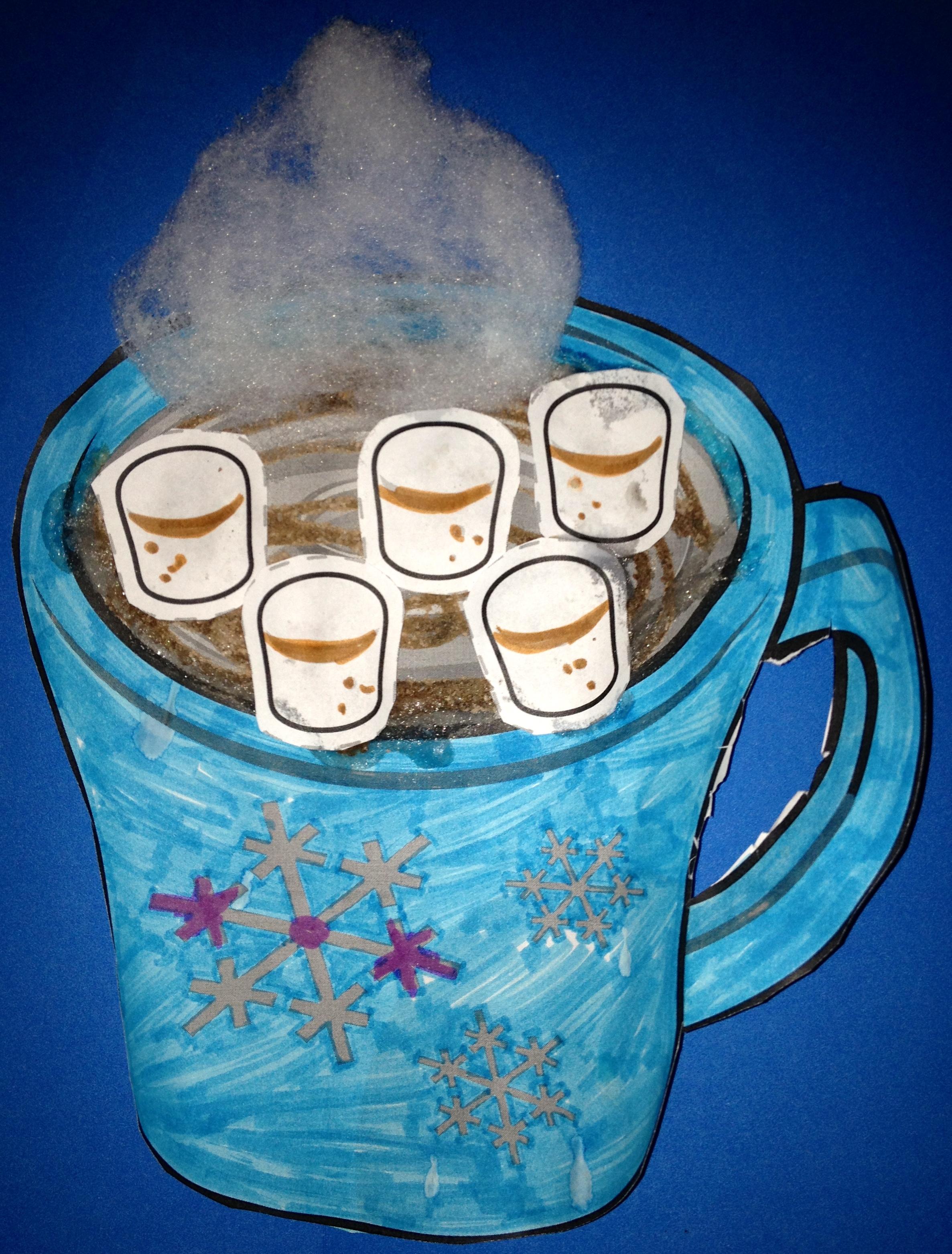 Hot Chocolate Paint Preschool