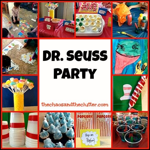 Dr Seuss Theme Party on Best Dr Seuss Images On Pinterest Suess Childhood Activities