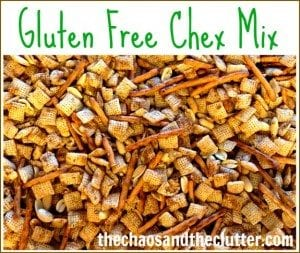 crunchy, snackable Gluten Free Chex Mix