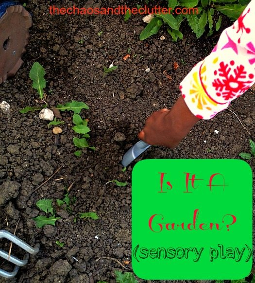 how to create a sensory garden for kindy