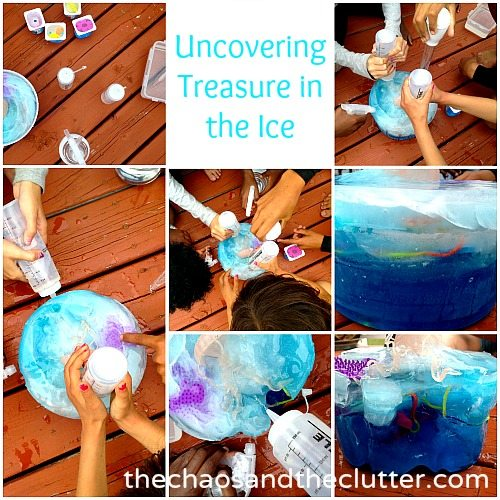 uncovering treasure in the ice