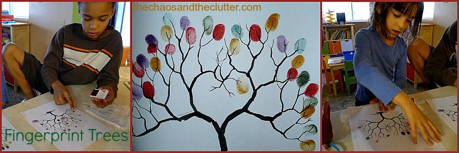 Fall Fingerprint Trees