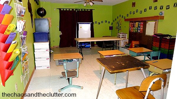 classroom view2 - The Chaos and The Clutter