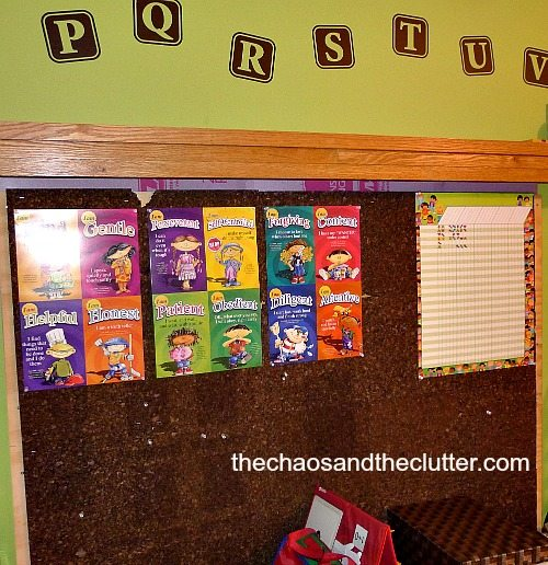 corkboard - The Chaos and The Clutter