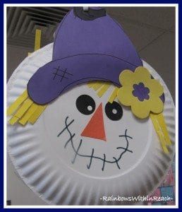 Paper Plate Scarecrow & 60+ Paper Plate Crafts and Activities