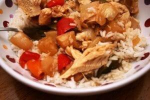 Hawaiian Chicken Crock Pot Freezer Meal