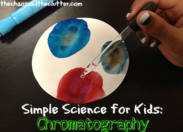 Simple Science for Kids: Chromatography